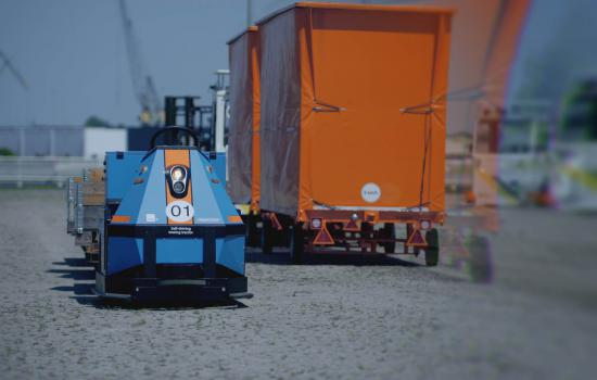 Discover the AGV Spijkstaal tow tractor! | Spijkstaal