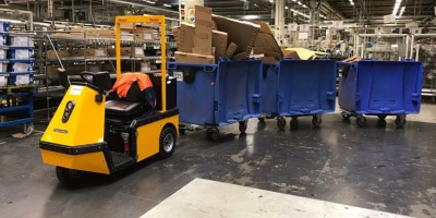 Material handling solutions Waste containers| Spijkstaal